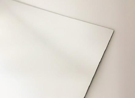 Антиабразивный зеркальный монолитный поликарбонат IRReflection НСМR 011, серебро 3 мм