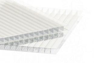 Сотовый поликарбонат IRROX толщина 4 мм, бесцветный