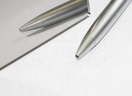 Зеркальный монолитный поликарбонат IRReflection GPMR, серебро 0,8 мм