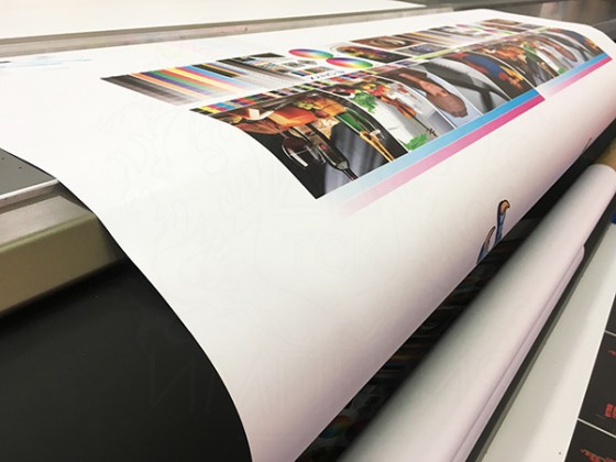 Баннерная ткань Frontlit (3200 мм*50 м, 300 гр.)