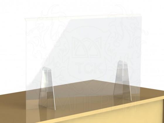 Экран-завеса защитный 1300*750 мм