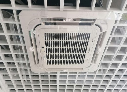 Экран для кассетного (потолочного) кондиционера 600*600 мм