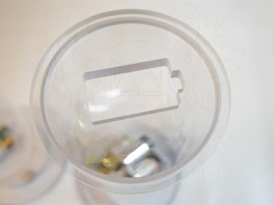 Контейнер для сбора батареек 100 мм