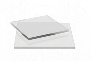 Монолитный поликарбонат Borrex толщина 3 мм, бесцветный