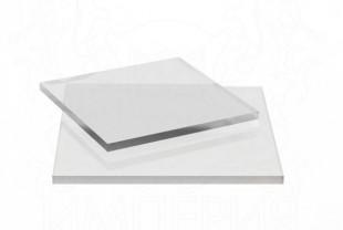 Монолитный поликарбонат Borrex толщина 12 мм, бесцветный