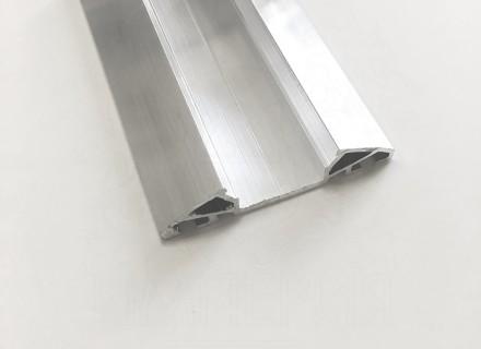 Планка Al-Imper прижимная алюминиевая верхняя 60 мм (без декора) PV.50.d