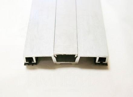 Планка Al-Imper прижимная алюминиевая универсальная 80 мм PN.80.d