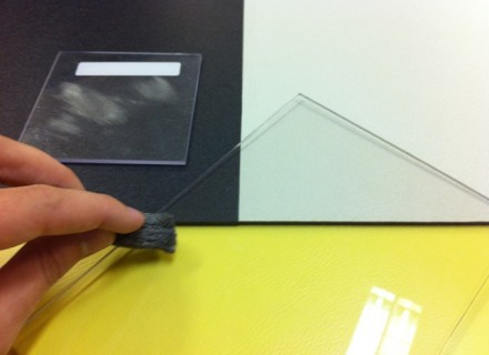 Антиабразивный монолитный поликарбонат LEXAN MARGARD MR5E (Австрия) - 3 мм, бесцветный
