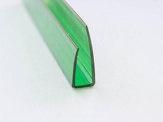 Профиль торцевой П6, зеленый