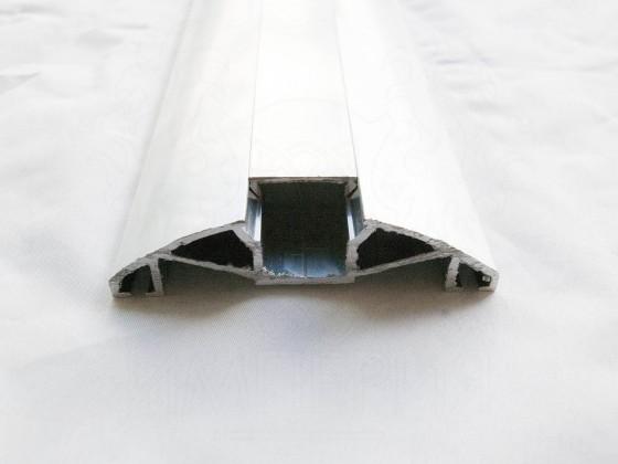 Прижимная планка верхняя AL Imper 80 мм (анодированное покрытие) PV.80.d