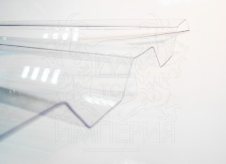 Профилированный поликарбонат Borrex бесцветный 1.3 мм