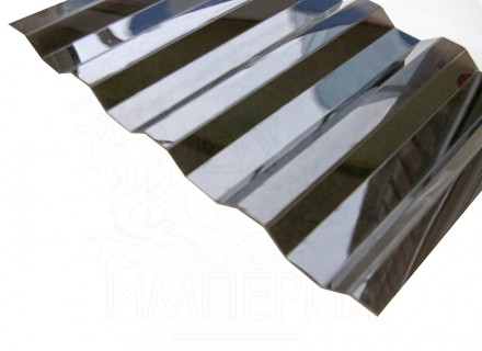 Профилированный поликарбонат Borrex бронза серый 0.8 мм