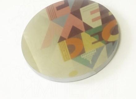 Зеркальный монолитный поликарбонат IRReflection GPMR, серебро 4 мм